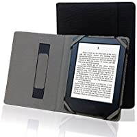 """Funda para libro electrónico de 6"""" universal de lino, cáñamo natural, para sony, kobo, tolino, pocketbook"""