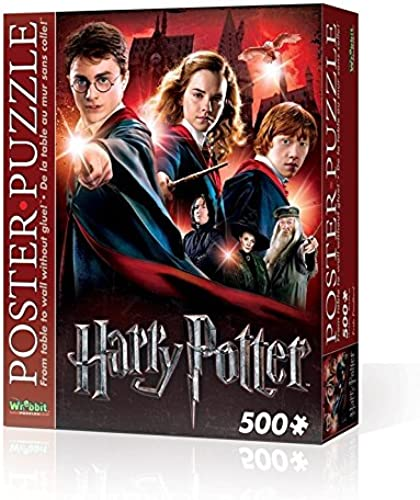 Wrebbit - Puzzle 3D, Diseño de Harry Potter Hogwarts