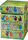 Goebel Pop Art Birds on a Love Wire - Künstlerdose Bunt