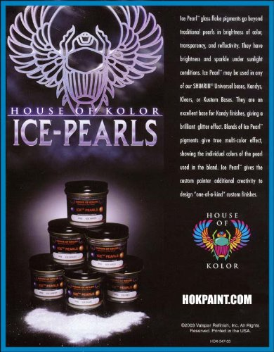 House of Kolor 4 Oz. ICE Pearl Blue IP05/SG100 BASECOAT