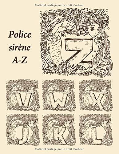 Police sirène A-Z