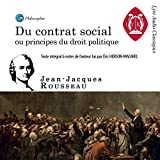 Du Contrat social - Ou Principes du droit politique - Format Téléchargement Audio - 9,50 €