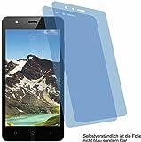 4ProTec I 2X Crystal Clear klar Schutzfolie für TP-Link Neffos C5A Bildschirmschutzfolie Displayschutzfolie Schutzhülle Bildschirmschutz Bildschirmfolie Folie