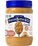 Peanut Butter & Co. Old Fashioned Crunchy Peanut Butter, Non-GMO, Gluten Free, Vegan, No Sugar...