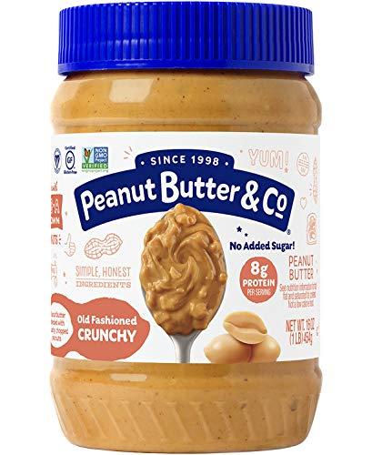 Peanut Butter & Co. Old Fashioned Crunchy Peanut Butter, Non-GMO,...