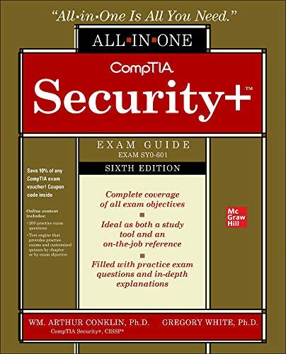CompTIA Security+ All-in-One Exam Guide, Sixth Edition (Exam SY0-601)) (English...