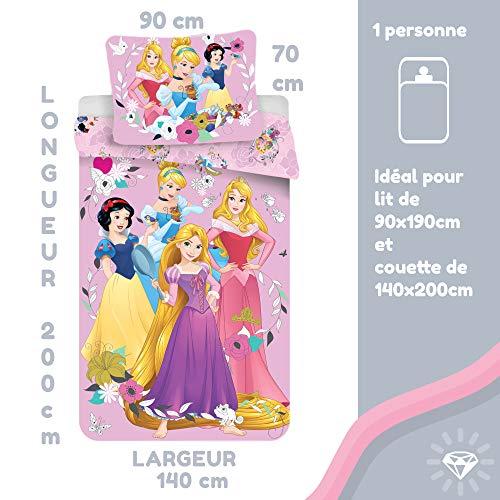 Disney Princess Rosa - Dekbedovertrek - Eenpe...