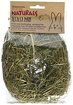 Rosewood Boredom Breaker Small Animal Activity Toy Naturals Alfalfa Ring from ROSHP