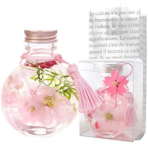 花まりか 桜ハーバリウムS 誕生日 母の日 花 ギフト プレゼント 贈り物 (コロン型)