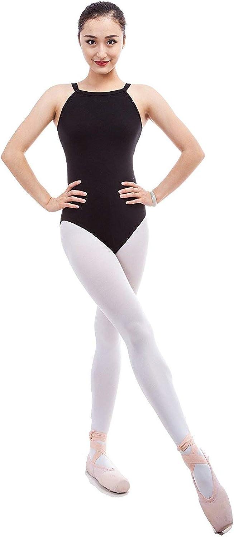 Cpdance(TM) Women's Tear Drop Back Design Strap Camisole Leotard,N002