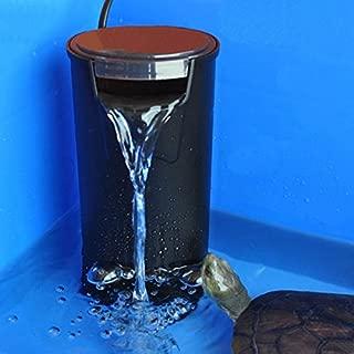 Vivarium Filtrate - Low Water Fresh Internal Hang Aquarium Fish Turtle Reptile Tank Power Filter - Separate Marine Museum Trickle Percolate - 1PCs