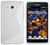 mumbi Hülle kompatibel mit Huawei Ascend Y530 Handy Case Handyhülle, transparent Weiss