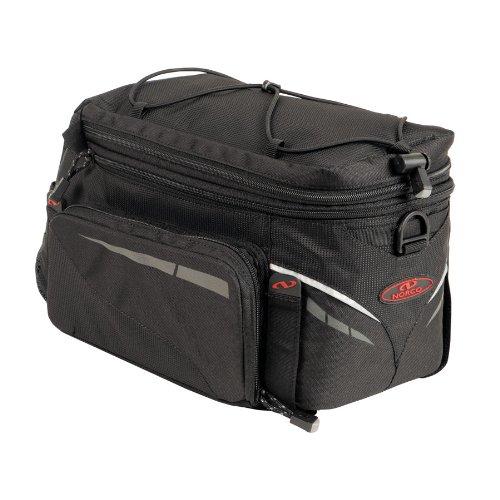 Norco Fahrradtasche Canmore Gepäckträgertasche Gepäckträger-tasche, schwarz, 34 x 20 x 21 cm