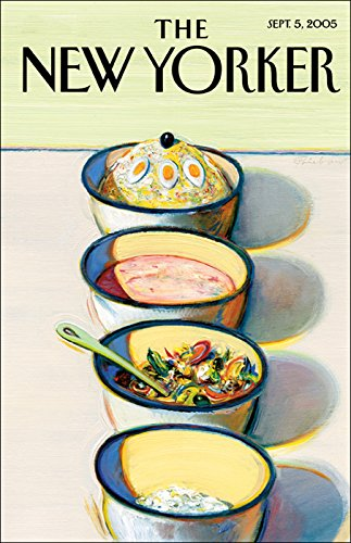 The New Yorker     The Food Issue (September 5, 2005)              By:                                                                                                                                 James Surowiecki,                                                                                        Malcolm Gladwell,                                                                                        Burkhard Bilger,                   and others                          Narrated by:                                                                                                                                 uncredited                      Length: 3 hrs and 40 mins     23 ratings     Overall 4.1