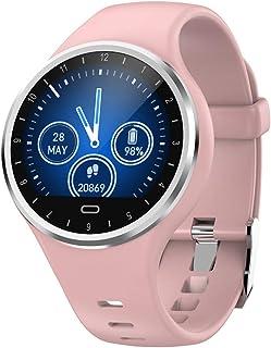 SoloKing Reloj Inteligente Hombre Mujer, Pulsera Actividad con Pulsómetros,Presión Arterial,Monitor de Sueño,Podómetro,Contador de Calorías,Notificación de Llamadas/SMS/Whatsapp