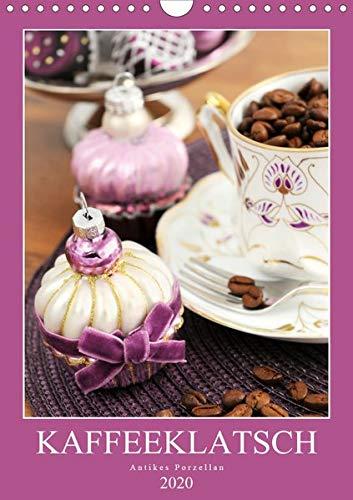 Kaffeeklatsch - Antikes Porzellan (Wandkalender 2020 DIN A4 hoch): Kaffeekannen und Vasen aus dem Biedermeier, Historismus und Jugendstil (Monatskalender, 14 Seiten ) (CALVENDO Kunst)