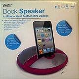 Vivitar Round Speaker with Mobile Device Holder
