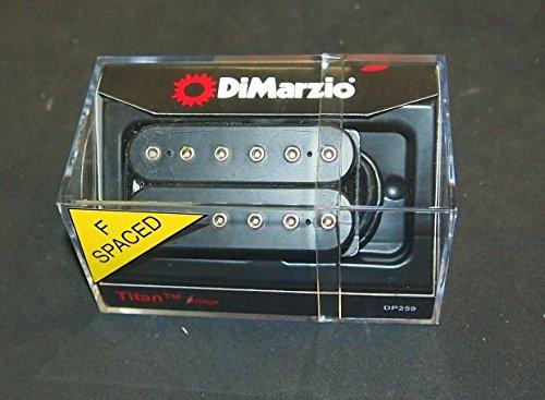 Dimarzio ディマジオ Titan Bridge F Spaced Black DP259F ハムバッカー ギター ピックアップ タイタン ジェイク ボーウェン モデル ブリッジ(リア)ポジション用 DP-259F 『並行輸入品』