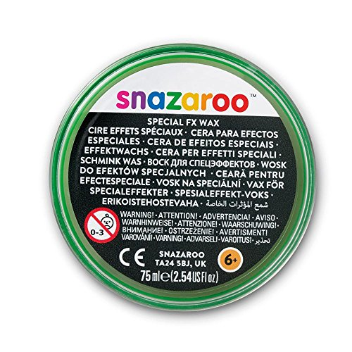Snazaroo Schminke Spezial FX Effektwachs für Wunden, 75ml