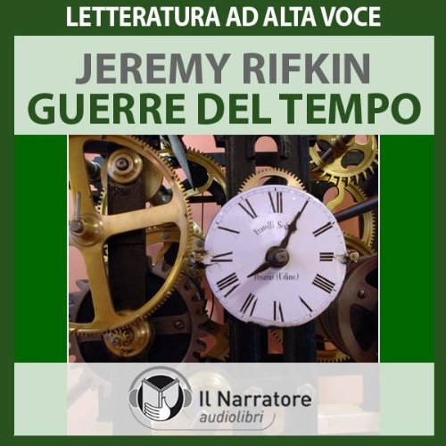 Guerre del tempo audiobook cover art