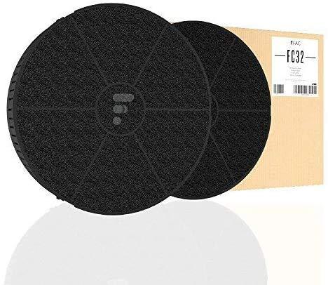 Fac FC32 - Filtre de hotte au charbon actif compatible Elica Mod.v400, cod. CFC0038668 Electrolux 7321422411933 TYPE 57