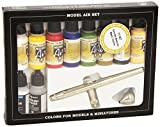 Vallejo Model Air Set - Ultra Airbrush + 10 Basic Colors - VAL71167
