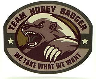 Honey Badger Heavy Duty Vinyl Decal / Multicam