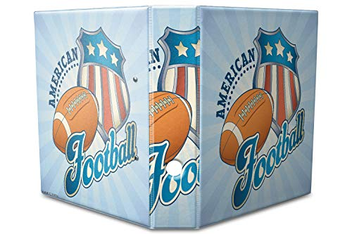 Motiv Akten Ordner Bedruckt 60mm DIN A4 American Football