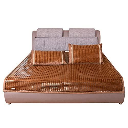 Colchoneta Para Dormir De Verano, Colchón De Enfriamiento De Bambú Carbonizado, Almohadillas Para Colchón, Ropa De Cama Plegable Antideslizante, Colchoneta Para Dormir Para El Dormitorio Del Hogar