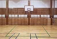 APAN7x5ftバスケットボール誕生日パーティーの背景バスケットボール・コート屋内ジムの写真の背景NBAテーマスポーツパーティーキッドマンスポーツスタジアムクラブ生徒のポートレート写真撮影の小道具