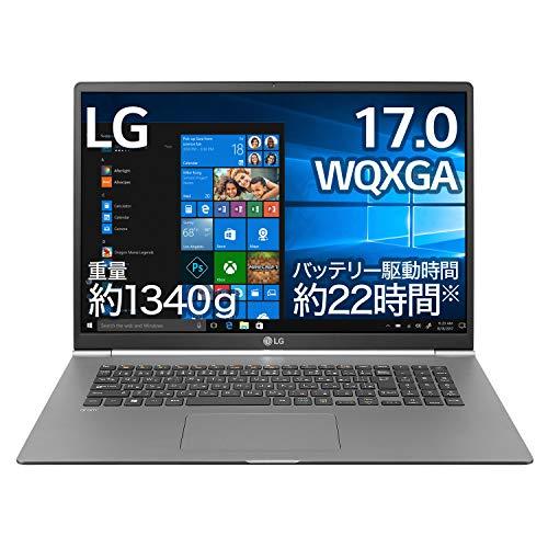 LG Electronics Japan 17Z990-VA56J LG 17インチ(WQXGA) ノートPC gram(約1340g) IntelR Core i5-826...