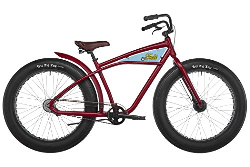 "Felt Cruiser Speedway - Bicicleta urbana - 2-SP/26"" rojo 2017"