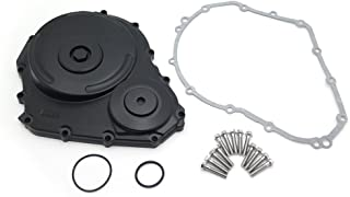 XKMT-Black Billet Aluminum Engine Clutch Cover Compatible With Suzuki 2006-2009 Gsxr 600 750 w/gasket [B01MYSXQ1K]