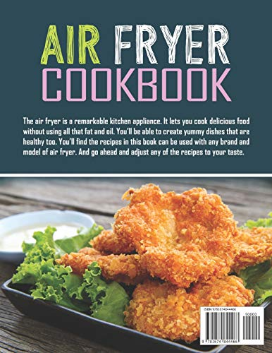 Air Fryer Cookbook: 600 Effortless Air Fryer Recipes for Beginners and Advanced Users 2