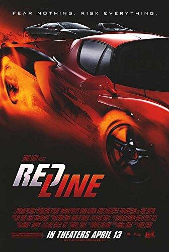 REDLINE Original Movie Poster 27x40 - Dbl-Sided - Nathan Phillips - Eddie Griffin - Tim Matheson