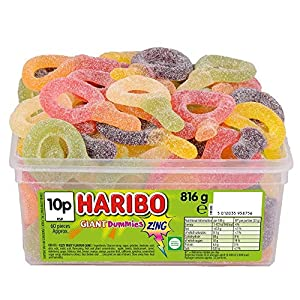 haribo giant sour suckers, 816g haribo giant sour suckers, 816g 51 KHjYcu L