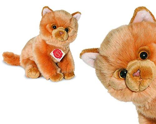 Teddy Hermann 90692 Katze rot 24 cm