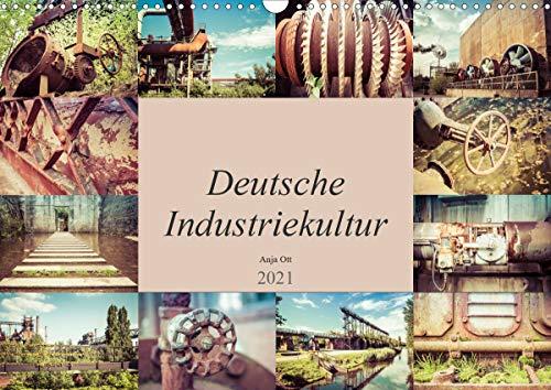 Deutsche Industriekultur (Wandkalender 2021 DIN A3 quer)