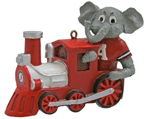 NCAA Alabama Crimson Tide Mascot Train Ornament
