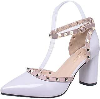 BalaMasa Womens ASL06794 Pu Heeled Sandals