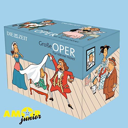 Große Oper für kleine Hörer Die ZEIT-Edition: 13 Hörspiele mit Opernmusik: 13 Hörspiele mit Musik - ZEIT-Edition