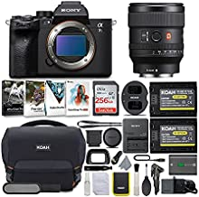 Sony Alpha a7S III Mirrorless Digital Camera with 24mm G-Master Lens Bundle (6 Items)