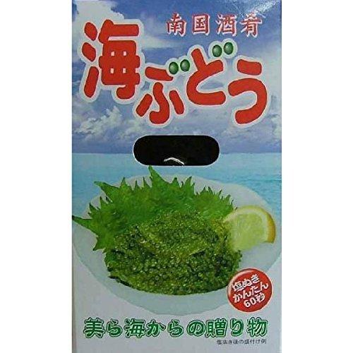 メックインターナショナル 海ぶどう(南国酒肴)塩水 120g×4P