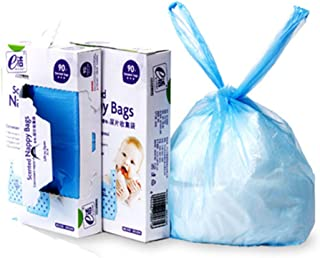 おむつがにおわない袋 おむつ 処理袋 防臭袋 消臭袋 ビニール袋 トイレ用ゴミ袋 ゴミ袋 赤ちゃん用 大人介護用 持ち運び便利 180枚入り