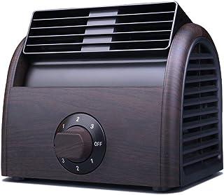 Ventilador De Escritorio, Aire Acondicionado Doméstico Sin Hojas con Ahorro De Energía Y Protección del Medio Ambiente Y Diseño De Doble Turbina Enfriador De Ventilador Eléctrico
