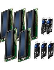 AZDelivery Modulo Pantalla LCD Display Azul HD44780 1602 con Interfaz I2C 16x2 caracteres blancos compatible con Arduino con E-Book incluido!