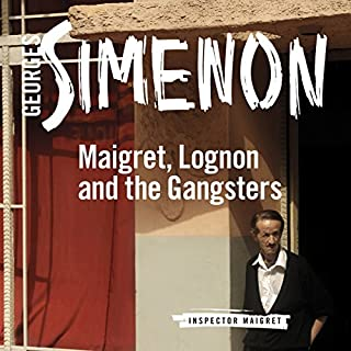 Maigret, Lognon and the Gangsters cover art
