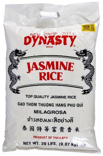 Dynasty Jasmine Rice, 20-Pound