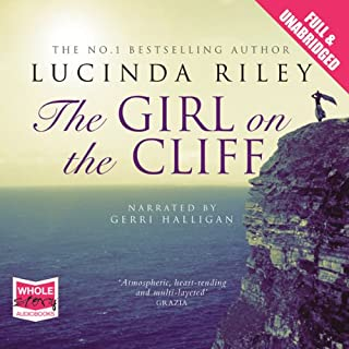 The Girl on the Cliff audiobook cover art
