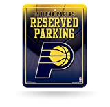 NBA Rico Industries 8.5-Inch by 11-Inch Metal Parking Sign Décor, Indiana Pacers